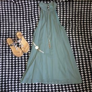 Impeccable Pig Green Midi Dress